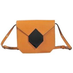 Prism Shoulder Bag Pierre Hardy Brown