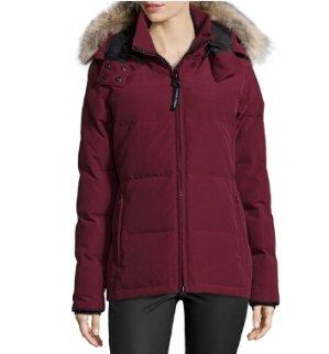 $695Canada Goose Chelsea Fur-Hood Parka Coat