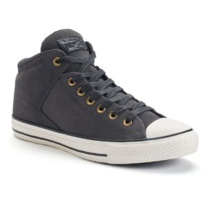 Men's Converse Chuck Taylor All Star Leather High Street Shoes