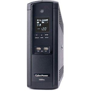 $119.95免税包邮CyberPower 智能LCD系列不间断电源 1500VA/900W