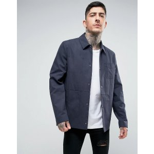 ASOS | ASOS Smart Worker Jacket In Navy Marl