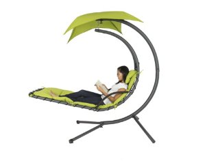 Hanging Hammock Chair with Arc Stand
