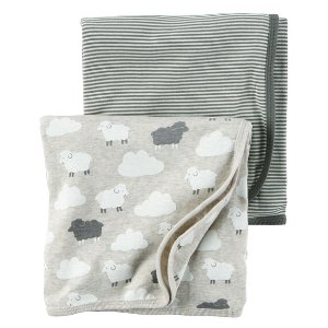 Baby Neutral 2-Pack Babysoft Swaddle Blankets | Carters.com