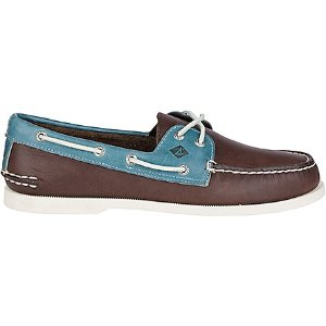 Men's Authentic Original 2-Eye Cross Lace Boat Shoe - Boat Shoes | Sperry