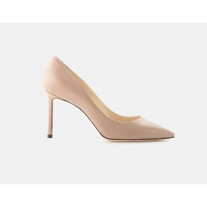 Jimmy Choo Romy 85 Kid Leather Pointy Toe Pump Pumps | ELEVTD Free Shipping & Returns