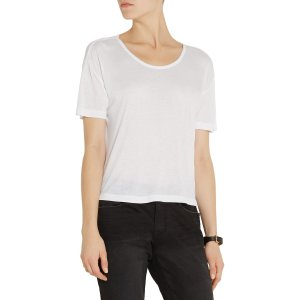 Oversized jersey T-shirt | T by Alexander Wang | US | THE OUTNET