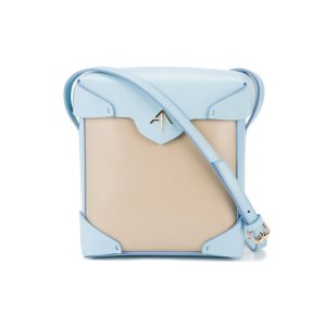 Manu Atelier Pristine Two-tone Cross Body Bag
