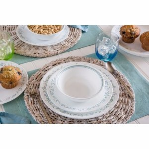 Corelle Livingware Country Cottage 16-Piece Dinnerware Set - Walmart.com