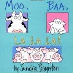 Moo Baa La La La 儿童动物发声图书