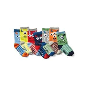 Monster days-of-the-week socks (7-pack)