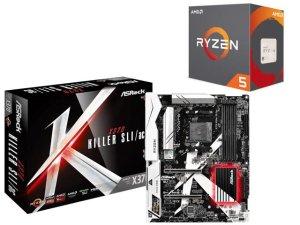 $259.99AMD Ryzen 5 1600X处理器 + ASRock X370 Killer 主板套装