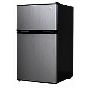Kenmore 3.1cu Stainless Steel Compact Refrigerator