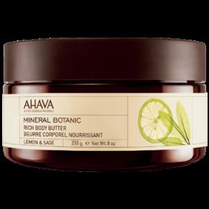 AHAVA® - Mineral Botanic Body Butter - Lemon & Sage
