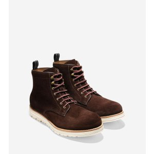 Men's Cortland Grand Boots in Chestnut Suede | Cole Haan