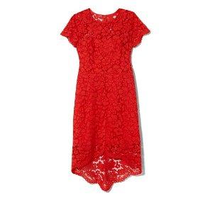Vince Camuto Lace Hi-lo Dress