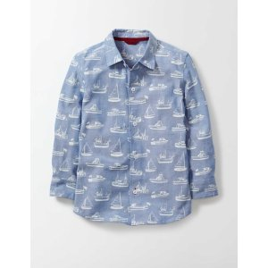 Chambray Shirt 26087 Shirts at Boden