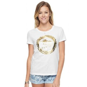 GLAMOROUS PALMS GRAPHIC TEE - Juicy Couture