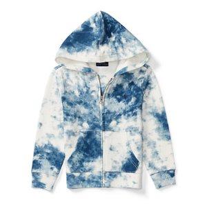 Tie-Dye Cotton Terry Hoodie - Sweatshirts � Tees & Sweatshirts - RalphLauren.com