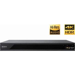 Sony UBP-X800 4K UHD 3D Hi-Res Audio Wi-Fi Blu-ray Player