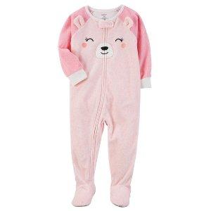 1-Piece Bear Fleece PJs