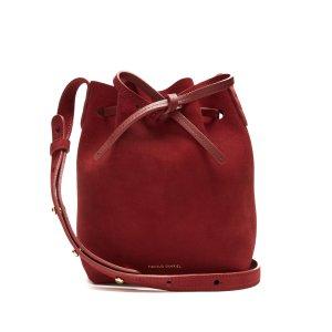 Mini Mini suede bucket bag | Mansur Gavriel