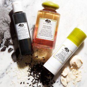 Dealmoon Exclusive! $20 off $45 With Cleansers+ deluxe sample of Cleanser + full- size eye cream@ Origins