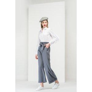 Tie Waist Wide Leg Pants PA0548