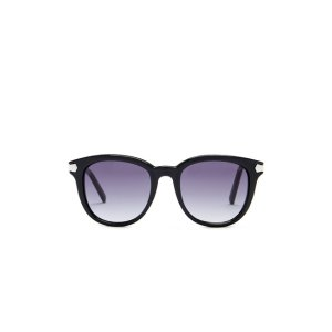 GUESS Women's Round Acetate Sunglasses