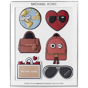 MICHAEL Michael Kors Stick To Glamour Leather Sticker Pack, Set of 6 - MICHAEL Michael Kors - Handbags & Accessories - Macy's