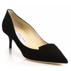 Jimmy Choo - Allure 50 Suede Kitten Heel Pumps - saks.com