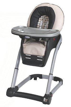$97.82(原价$189.99)好价再来!Graco Blossom 4合1婴幼儿高脚餐椅