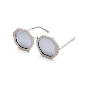 Grey Moon Disco Octagonal Sunglasses