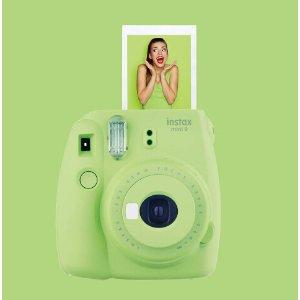 Fujifilm instax mini 9 Instant Film Camera Green 16550655 - Best Buy