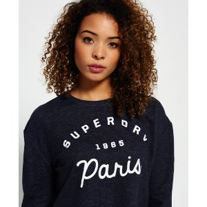 Superdry Traveller Crew Neck Sweatshirt - Women's Tops