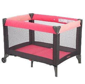 $18.99(原价$59.99) 超低好价Cosco Funsport便携式游戏床,珊瑚粉色