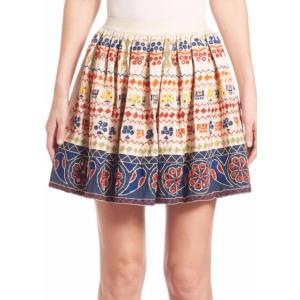 Alice + Olivia - Tania Embroidered Skirt - saksoff5th.com