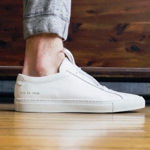 $200起+免税 低至5折Common Projects 男士,女士经典鞋履