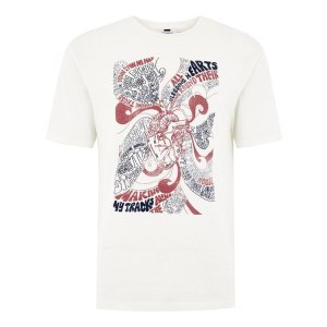 JAMES BAY X TOPMAN Off White Hearts T-Shirt - New Arrivals - New In