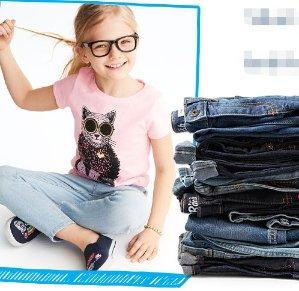 As Low As $8Kids B'Gosh Blue Jeans Doorbuster @ OshKosh BGosh