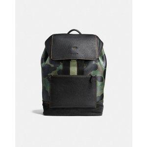 Manhattan Backpack With Wild Beast Print