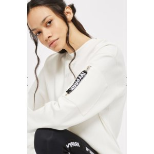 Embroidered Logo Sweat Top by Ivy Park