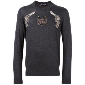 Dolce & Gabbana Gun Patch Jumper - Farfetch