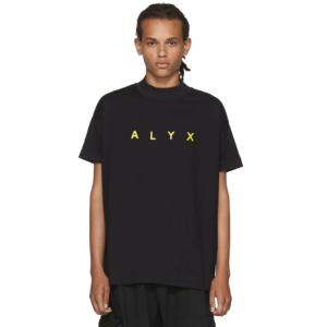 Alyx: SSENSE Exclusive Black Logo T-Shirt