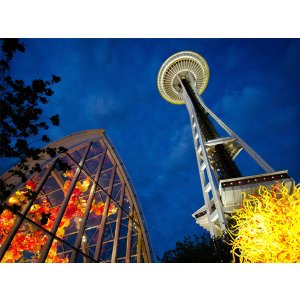 3 Day Tour to Seattle, Kerry Park, Space Needle, Pioneer Square, Chihuly Garden & Glassn, Boeing Factory, 1st Starbucks, Mt. Rainier National Park etc.