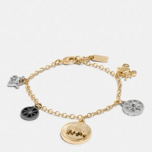 COACH: Horse And Carriage Coin Mix Bracelet