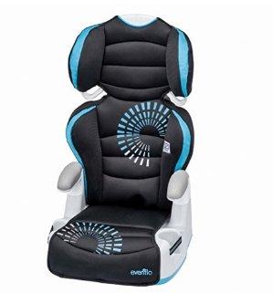 $23.84再降!Evenflo 2合1高背儿童汽车安全座椅