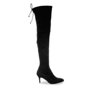 Tiemodel Suede Over-the-Knee Boots