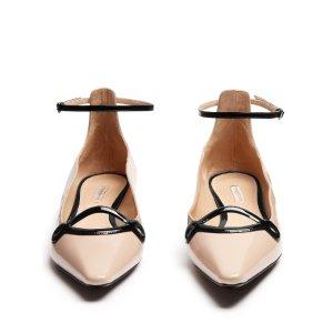 Round 'N' Round polished-leather flats | Fabrizio Viti