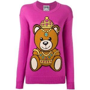 bear intarsia jumper