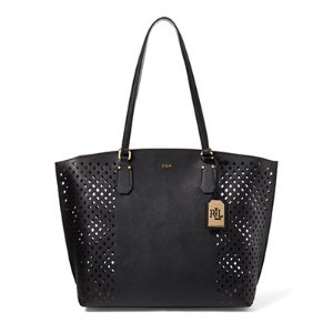 Perforated Tanner Tote - All Accessories � Women - RalphLauren.com